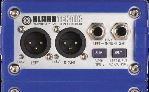 Klark Teknik DN200 - Active Stereo DI Box