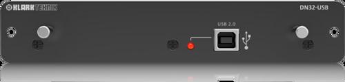 Klark Teknik DN32-USB - USB 2.0 Expansion Module with up to 32 Bidirectional Channels