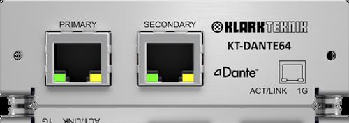 Klark Teknik KT-DANTE64 - Dante Connectivity for KLARK TEKNIK and MIDAS Products