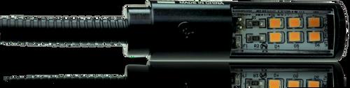 Klark Teknik LEDLAMP18 - LED Lamp with 18'' Gooseneck Shaft and Straight 4 Pin XLR Connector