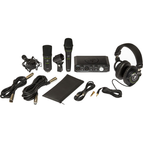 Mackie Producer Bundle - Recording bundle with Onyx Producer interface, EM89D dynamic mic, EM91C condenser mic and MC-100 headphones.
