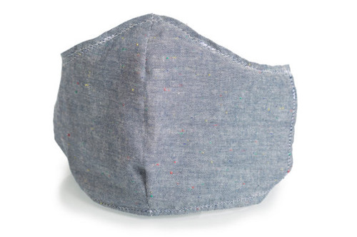 Gator Cases MSK-DEN-NF Reusable and Washable Face Mask in Denim Style