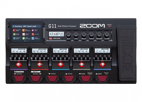 Zoom ZG11 Multi-Effects Processor with Expression Pedal