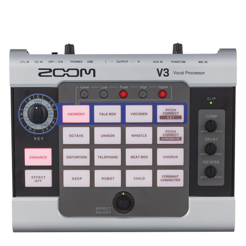 Zoom ZV3 Vocal Processor