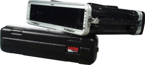 Gator Cases 2 Space Shallow Audio Rack Case