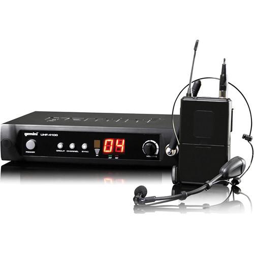 Gemini UHF-4100HL Wireless Microphone System