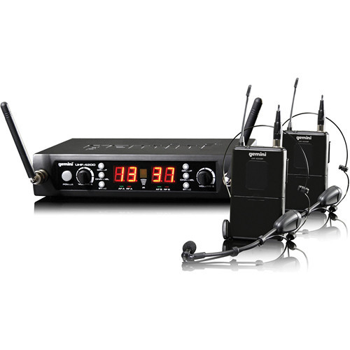 Gemini UHF-4200HL Wireless Microphone System