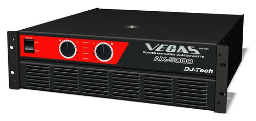 DJ Tech AX-5000 Power Amplifier