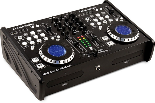 Marathon DCM-3000 Professional CD/SD/USB Mix Station with Scratch DSP Effects