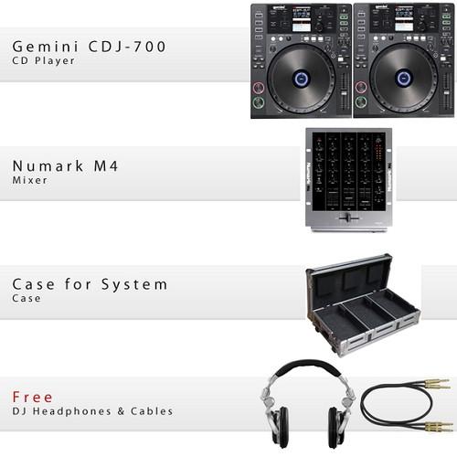 GCD CDJ-700 Pack IV
