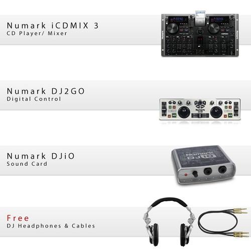 GCD Numark Go Mix 2 Pack