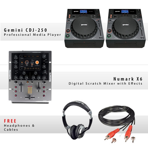 Gemini CDJ-250 Pack II