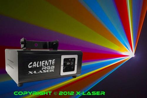 X-Laser Caliente RGB