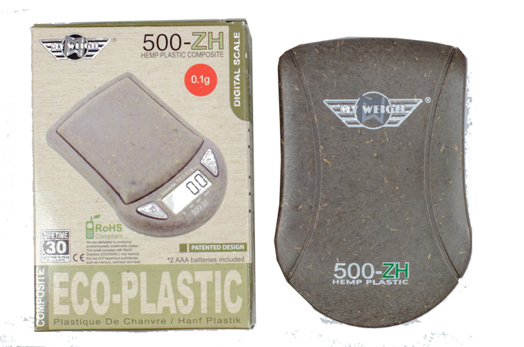 Pocket Scale - Hemp 500ZH