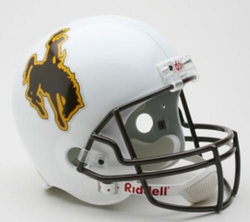 78c1d11f4 Wyoming Cowboys Riddell Deluxe Replica Helmet - Avery Street Sports