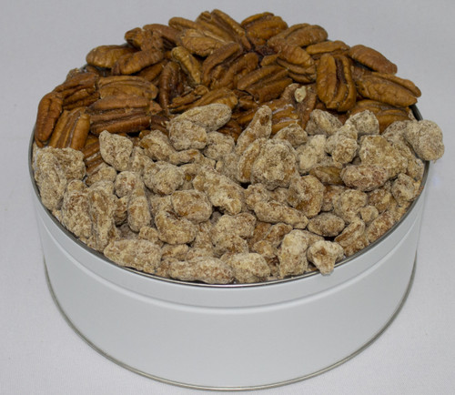 ROASTED SALTED, PRALINE PECANS