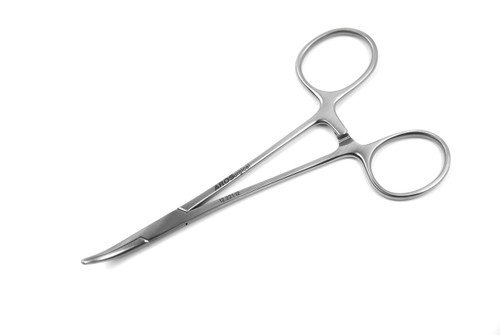 12.221.12: HALSTED Mosquito Forceps, Standard, 12cm, 4.75 inches, CVD tips
