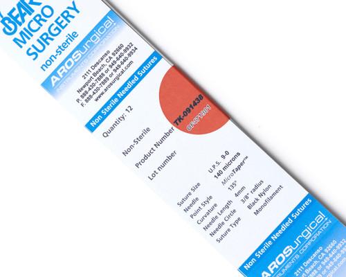 AROSuture™ TK-091438 | 9-0 Non-Sterile Nylon Microsuture with 140 Microns TAP Point Needle