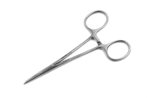 "Halsted Mosquito Forceps, 4 75"" (12cm), Standard CVD Tips"