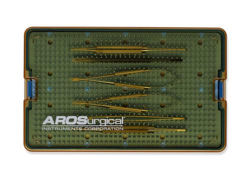 5 Piece Microsurgery Instrument Set | AROSmicro™