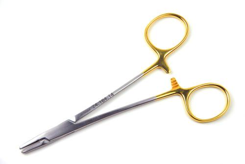 "Mayo-Hegar Needle Holder, 5.5"" (14cm), STR Tips | AROSmicro™ 24.184.14"