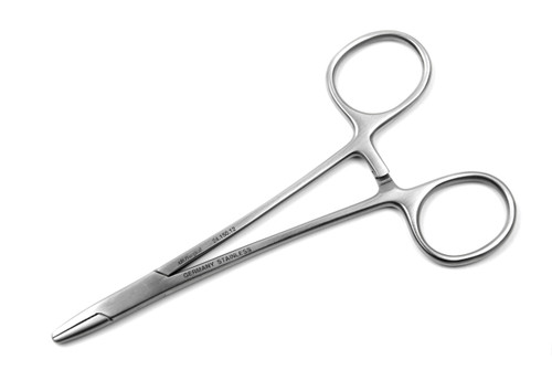 "Baumgartner Needle Holder, 4.75"" (12cm), STR Tips 