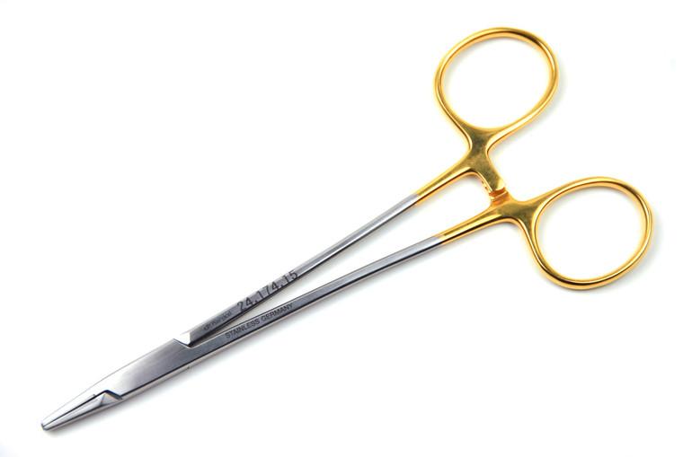 "Crile-Murray Needle Holder, 6"" (15cm), STR Tips w/ TC inserts | AROSmicro™ 24.174.15"