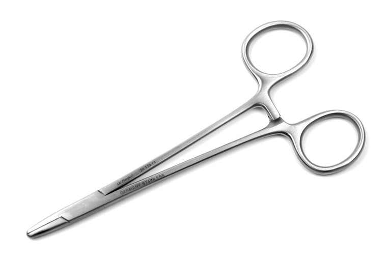 "Baumgartner Needle Holder, 5.5"" (14cm), STR Tips 