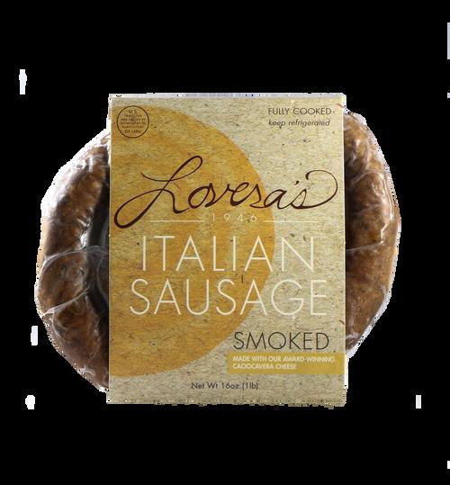 Smoked Italian Sausage w/ Caciocavera Cheese - 16oz
