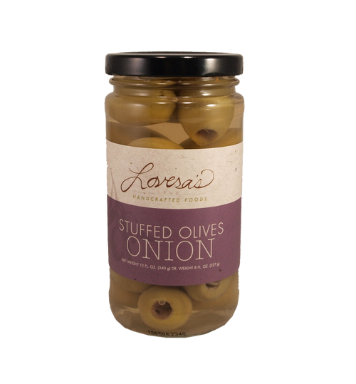 Onion Stuffed Olives  - 12oz