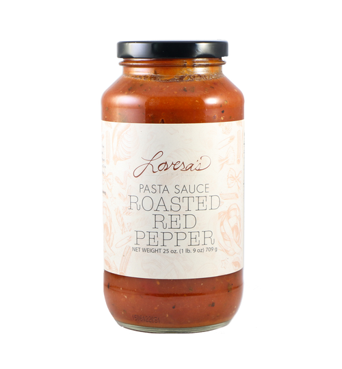 Roasted Red Pepper Pasta Sauce - 25oz