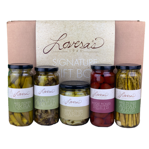 Marinated Vegetable Variety Gift Box