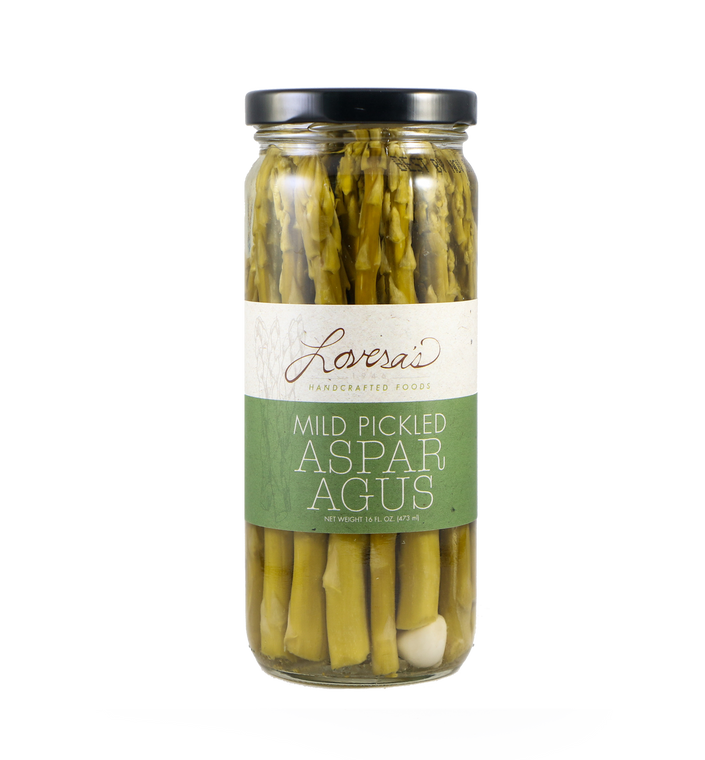 Mild Pickled Asparagus - 16oz