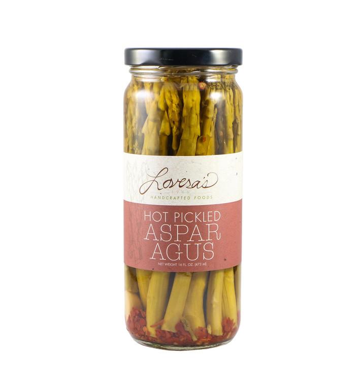 Hot Pickled Asparagus - 16oz