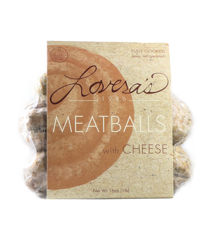 Meatballs With Caciocavera Cheese - 16oz