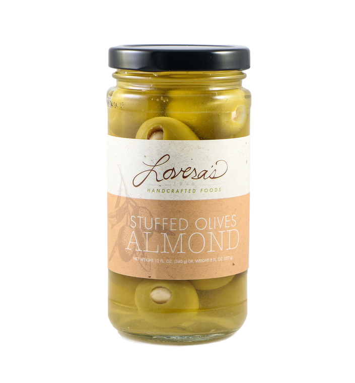 Almond Stuffed Olives  - 12oz