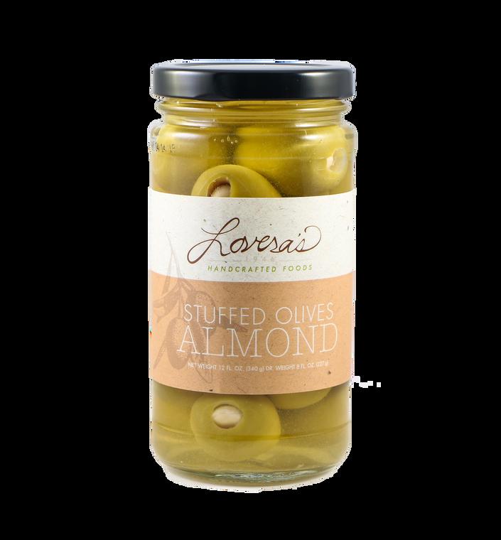 Almond Stuffed Olives  - 12oz