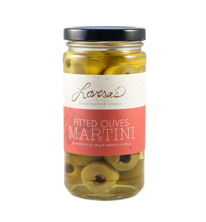 Martini Pitted Olives  - 12oz