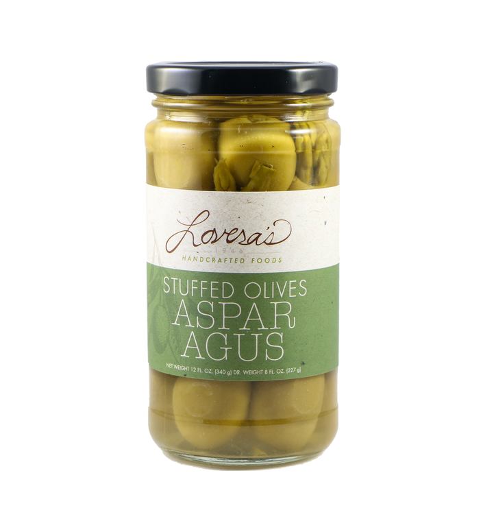 Asparagus Stuffed Olives  - 12oz