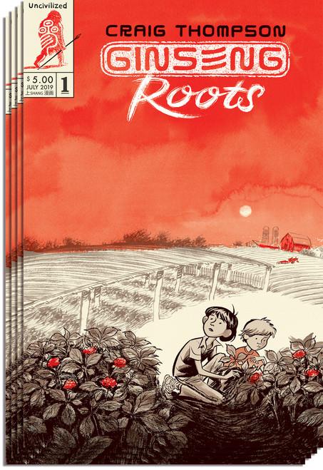 Ginseng Roots Subscription + Box