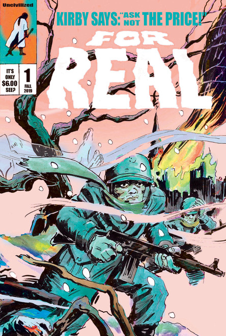 For Real #1 by James Romberger