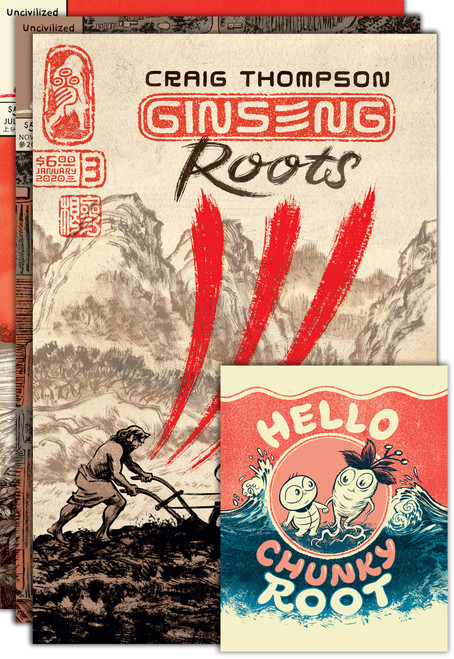 Ginseng Roots SET 1-3 by Craig Thompson