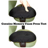 Chair Arm Pad Covers Memory Foam Press Test