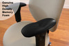 Ultra-Soft Ergo360 Memory Foam Chair Armrest Arm Pads With Genuine High Density Memory Foam