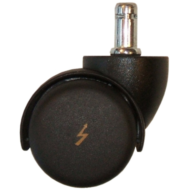 ESD Chair Caster Wheels Help Prevent Static Charges That Can Damage Electronics