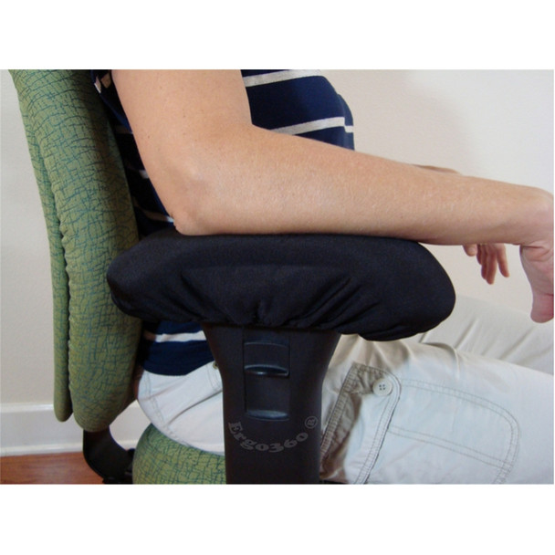 Soft Memory Foam Chair Arm Pad Covers Offer Instant Elbow Cushioning