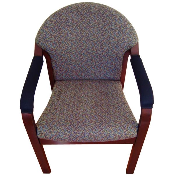 standard neoprene armrest covers installed