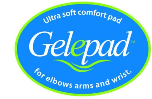 Gel Armrest Pads Logo