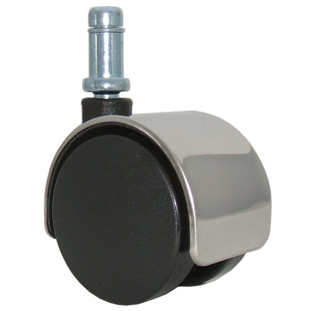 Chrome Chair Caster Wheels