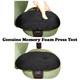 Chair Arm Pad Covers Memory Foam Press Test